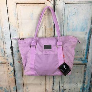 6967767913 Puma Jane Corduroy tote purple pink  B13-16